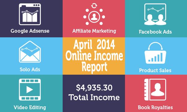 April 2014 Online Income Report